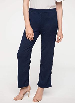 DeFacto Beli Elastik Detaylı Rahat Pantolon